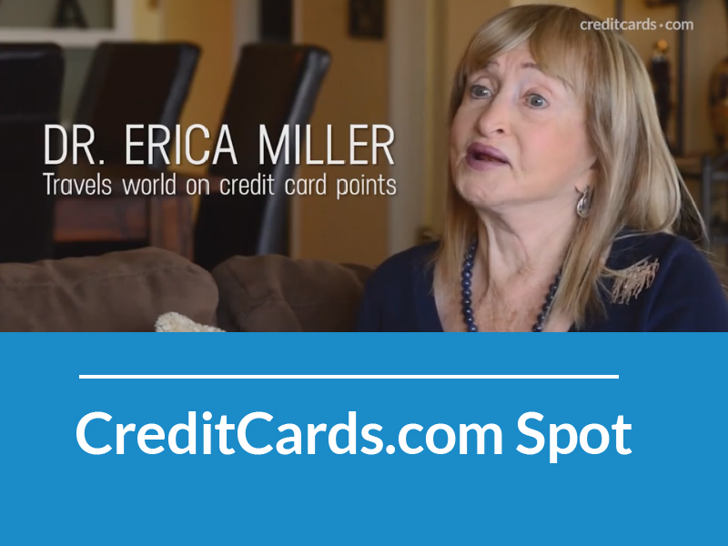 "CREDITCARDS.COM ""How One Woman Travels the World on Credit Card Points"""