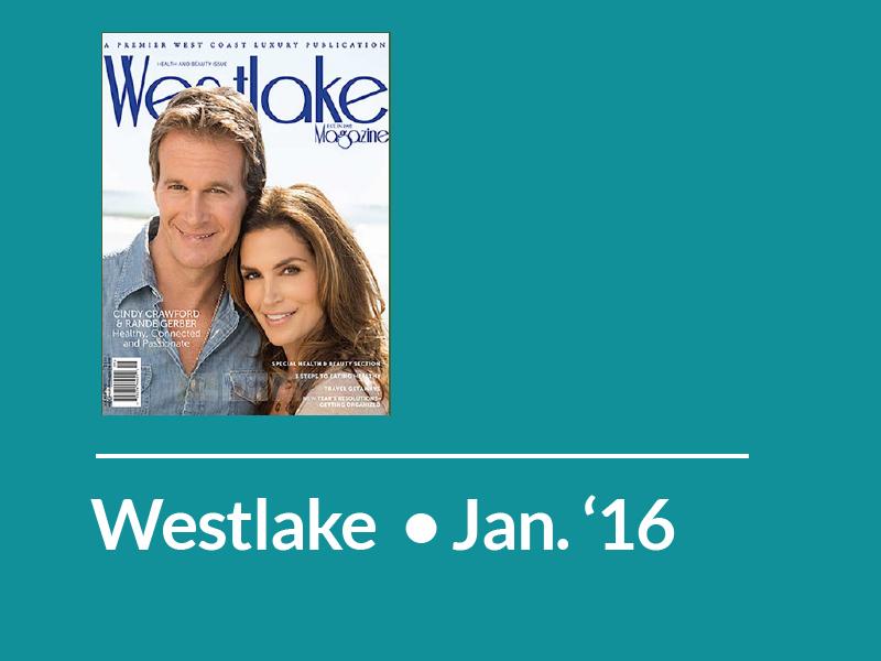 Westlake Magazine • January 2016