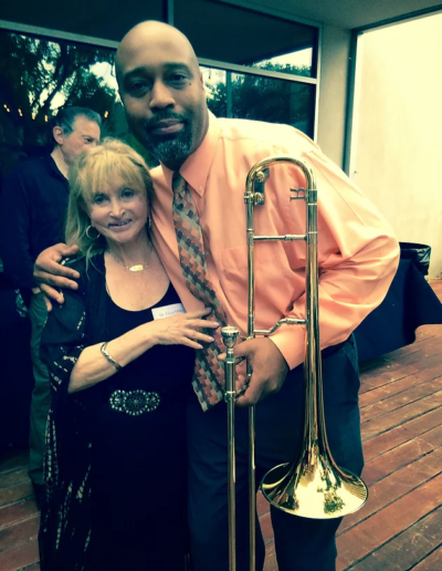 I'm thankful to be surrounded by wonderful people...including artists Andre's jazz ensemble is wonderful!