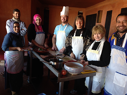 Cooking Class in Morocco 2014