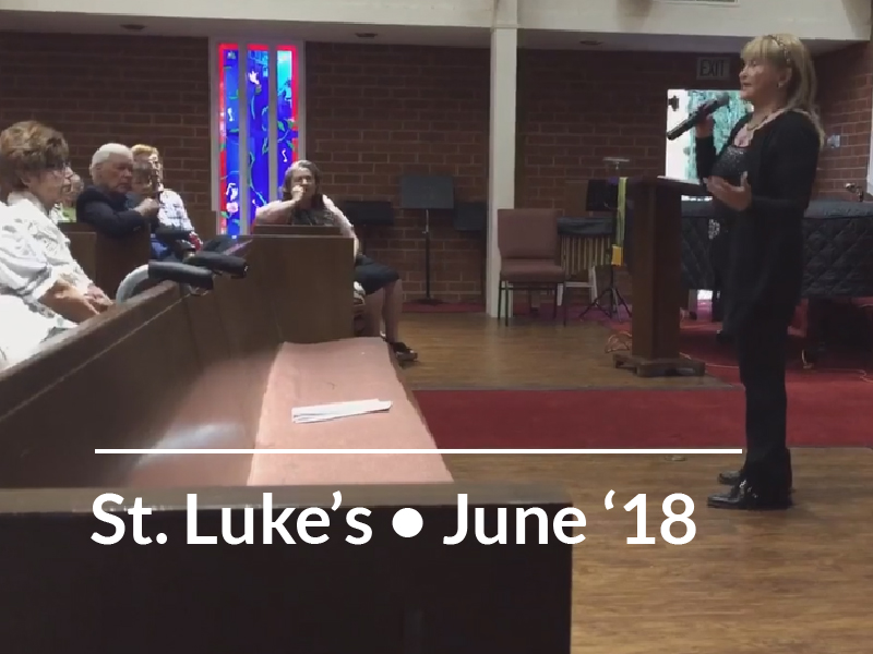 St. Luke's Lutheran Church 6-28-18