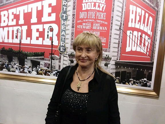Dr. Miller catches the Hello, Dolly! revival at Broadway in New York