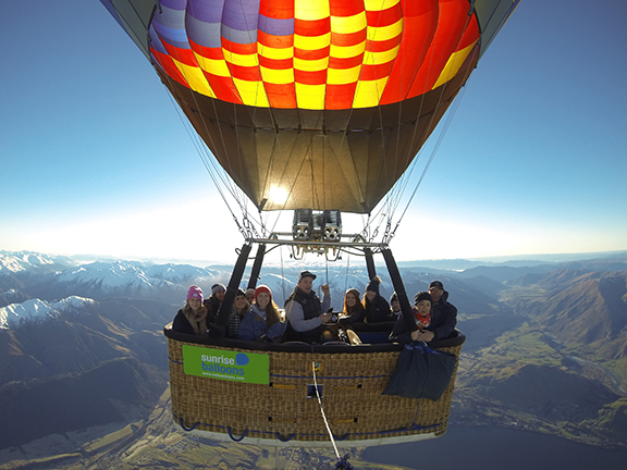 Ballooning in New Zealand