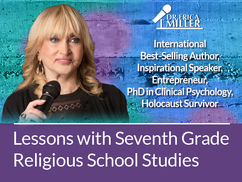 For Immediate Release: Holocaust Survivor Shares Lessons with Seventh Grade Religious School Studies