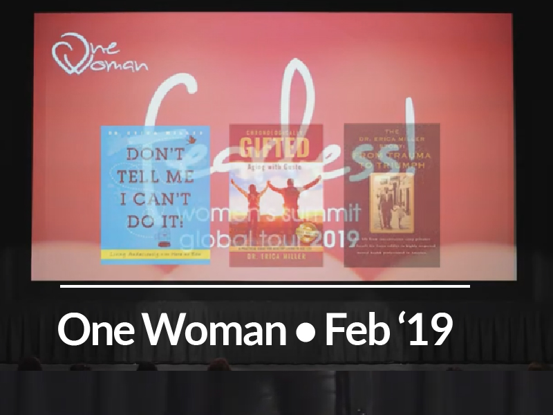 One Woman Fearless Show – Austin, TX – Feb. 25, 2019