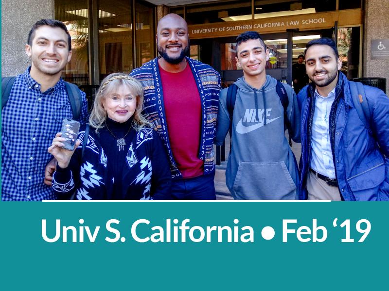 University of Southern California Feb. 19