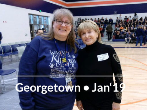 Holocaust Remembrance Assembly, Georgetown, Texas January 25, 2019