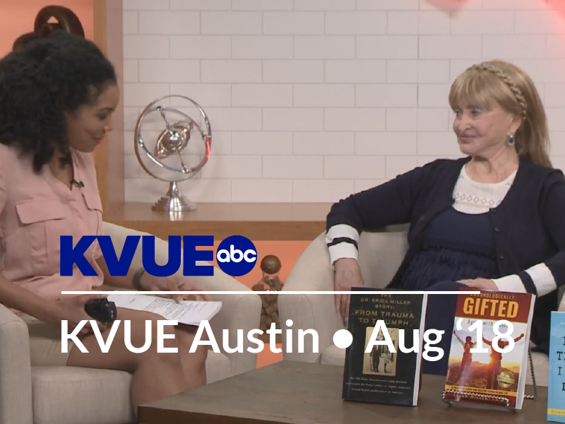 KVUE-ABC AUSTIN Interview with Dr. Erica Miller – Guide for healthy living to age 123 – 08-17-18
