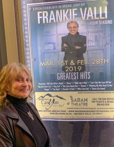 Going to see Frankie Valli