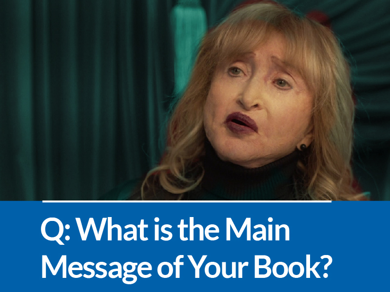Q&A With Dr. Miller: What is the Main Message of Your Book