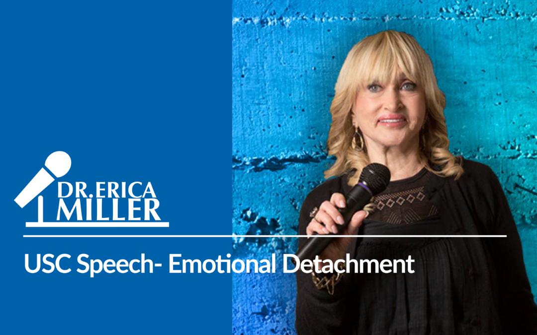 USC Speech- Emotional Detachment