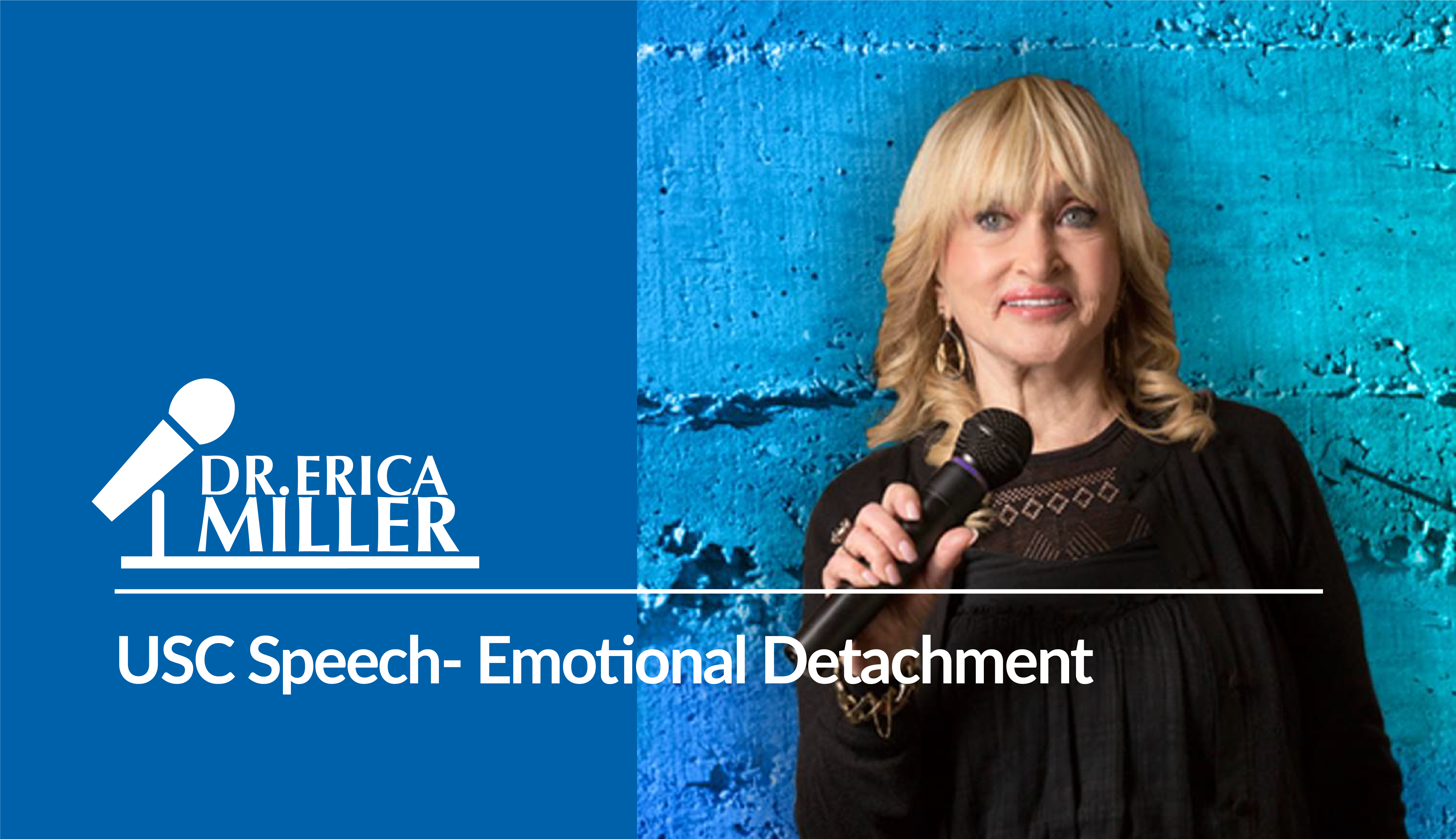 USC Speech- Emotional Detachment