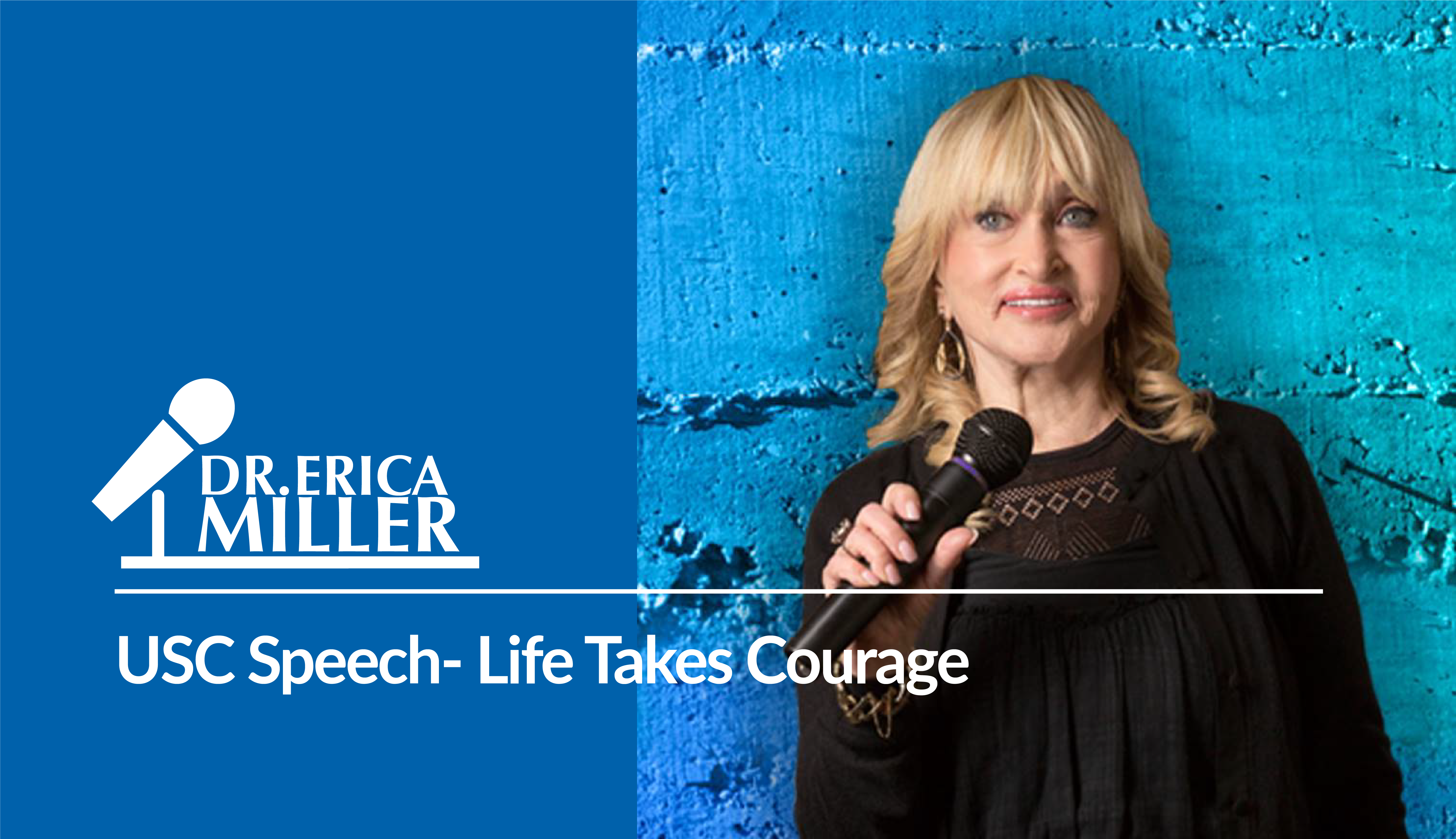 USC Speech- Life Takes Courage