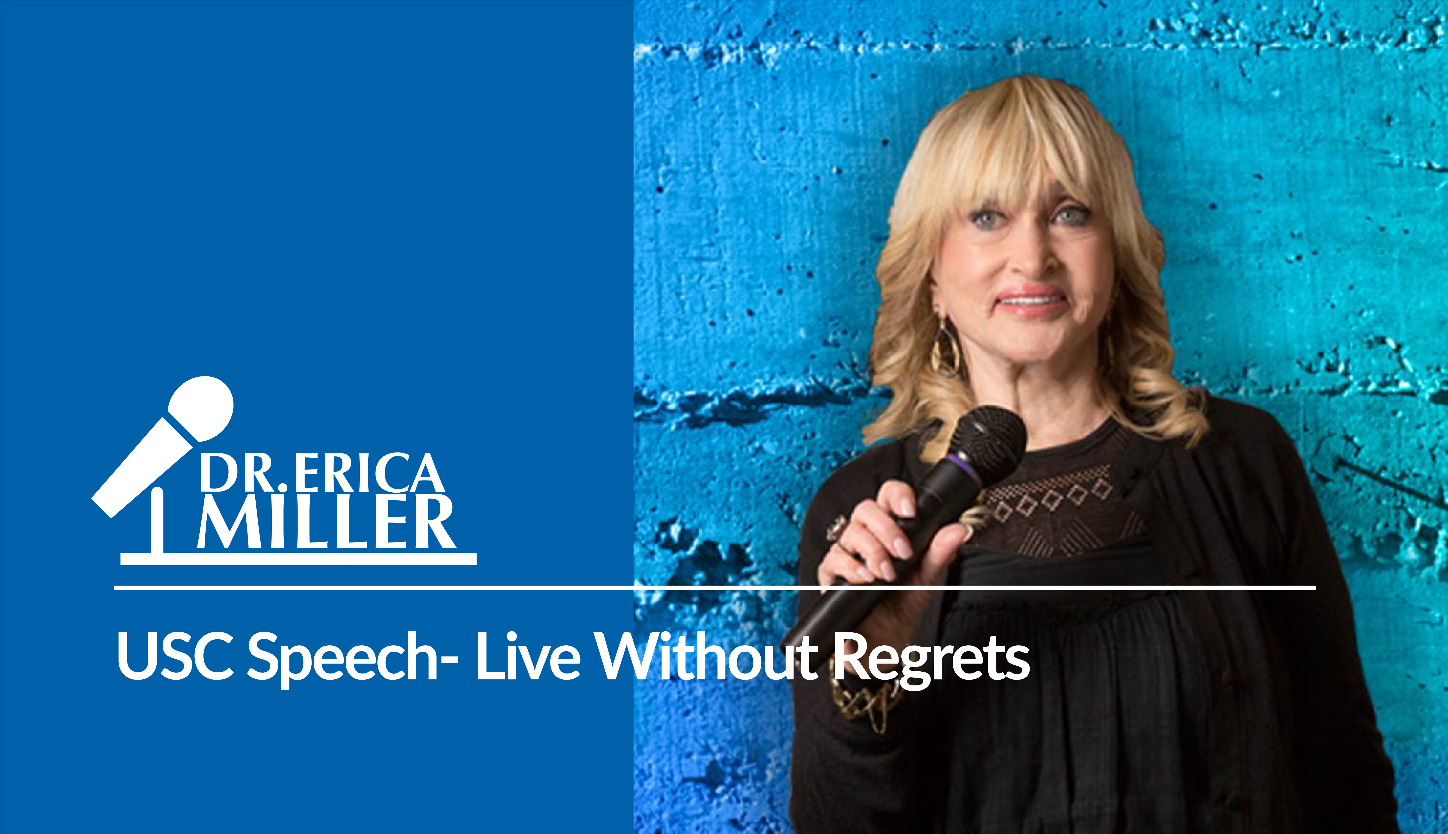 USC Speech- Live Without Regrets