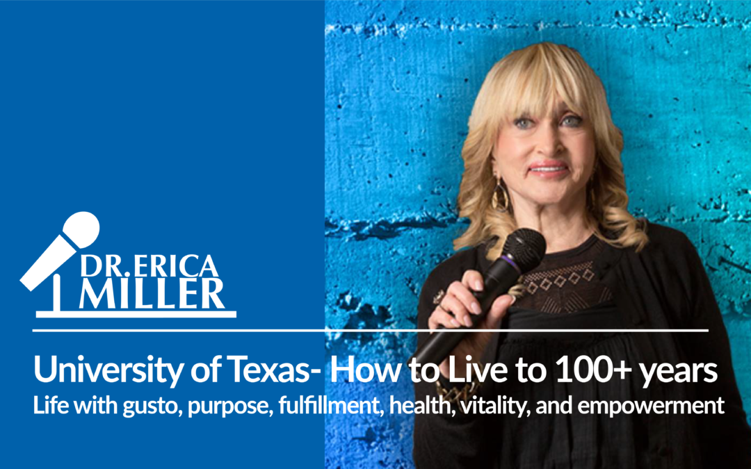 University of Texas Speech- How to live to 100+ years