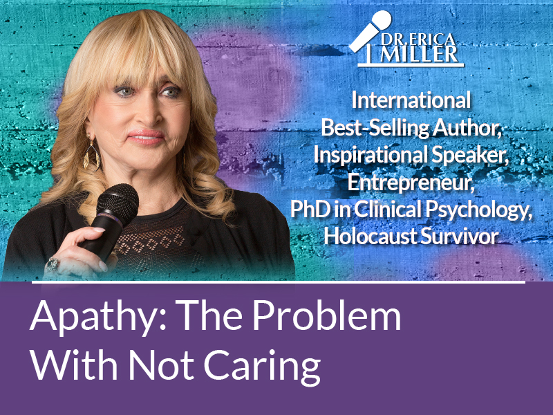 Apathy: The Problem With Not Caring