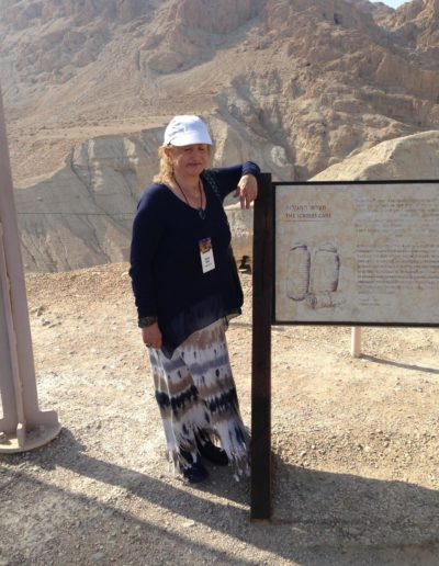 Visiting the archaelogical dig site of the Dead Sea Scrolls