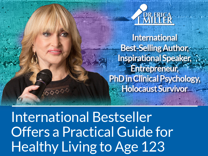 International Bestseller Offers a Practical Guide for Healthy Living to Age 123