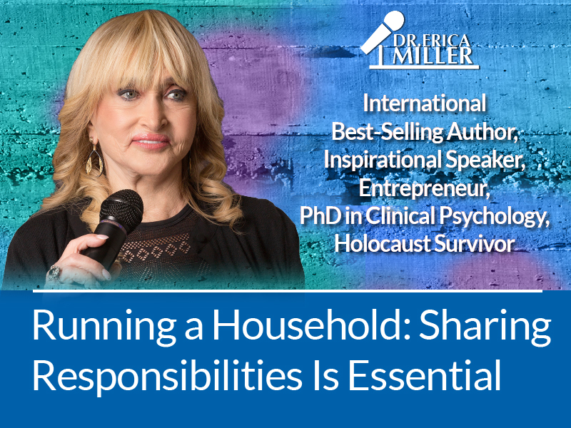 Running a Household: Sharing Responsibilities Is Essential