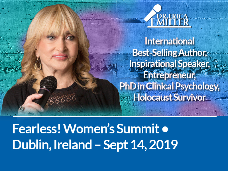 One Woman Fearless! Summit – Dublin, Ireland – Sept '19
