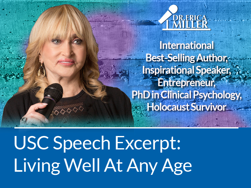 USC Speech Excerpt – Living Well At Any Age