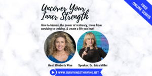 Uncover Your Inner Strength: How to Harness the Power of Resiliency, Move from Surviving to Thriving, and Create a Life You Love!